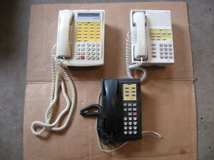 Lucent 4 Line Phone X 3 Conference Call Hold Speaker Intercom Telephones
