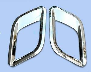 Chrome Rear Fog Lights Cover Trims For Buick Opel Vauxhall Mokka Encore 2013 16