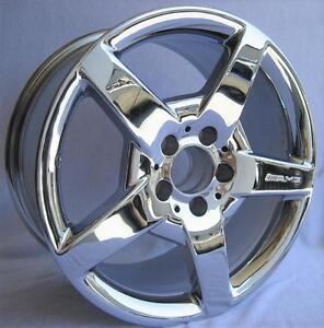 17 Wheel Oem Amg Mercedes Slk55 Slk350 17x8 5 1 Piece Hollander 65347