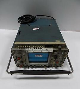 Tektronix 465 Oscilloscope With Dm 44 Multimeter