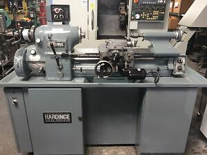 Hardinge Hlv h Tool Room Lathe 1980 s Tool Post Tailstock Cool Syst Usa Made