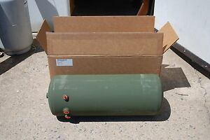 27 X 9 5 Aluminum Air Pressure Tank 150psi 2 X 1 4 1 3 8 2 X 1 2 7 Gallon