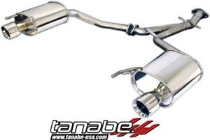 Tanabe Medalion Touring Rear Section Exhaust Muffler For 06 13 Lexus Is250 Is350