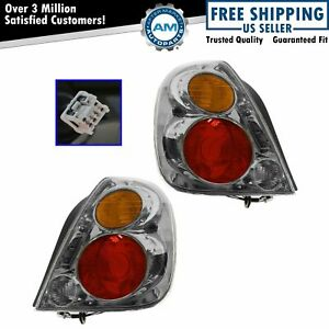 Taillights Taillamps Rear Brake Lights Left Right Pair Set For 02 04 Altima