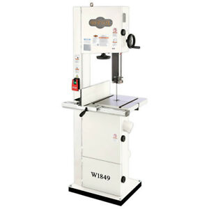 Shop Fox W1849 14 inch 220 volt 2 Hp Heavy Duty Versatillity Resaw Bandsaw