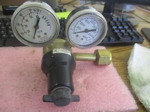 Concoa Gas Regulator Model 1806 4785 Inert Gas Regulator Cga 320
