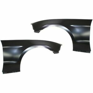 Front Right Left Side New Fenders Set Of 2 Lh Rh Ford Mustang 2010 2014 Pair