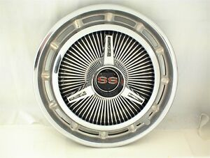 1965 1966 Chevrolet Ss Spinner Hubcap Wheel Cover Flipper