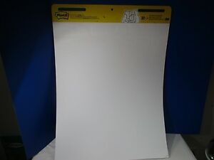 3m Post it Self stick Easel Pad 25 X 30 5 Inches 30 sheet Pad 2 Pack