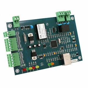New Wiegand Tcp ip Network Entry Access Control Board Panel For 2 Door 4 Reader