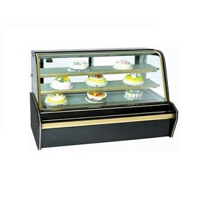 Bosst Cs528fl2c3p2 Refrigerated Bakery Display Showcase Marble Black