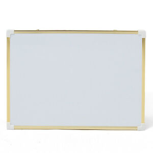 35x23 Inch Double Side Magnetic Writing Whiteboard Office School Free Dry Erase