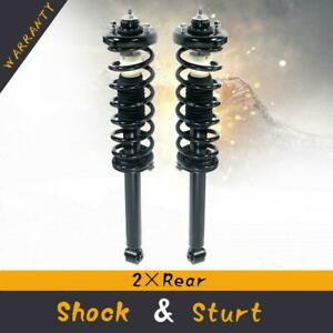For 2003 07 Honda Accord Rear Quick Complete Struts Coil Spring W Mounts Pair