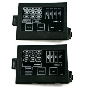 1998 2002 Camaro Firebird Ls1 Engine Fuse Box Panel Covers Decals Ht12176310 2