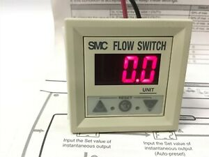 Smc Pf2d300 a Digital Flow Switch Display For Water 0 25 4 5l min N c Contact