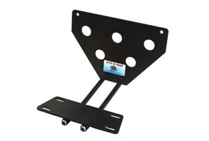 Removable Front License Plate Bracket 2008 2014 Jeep Wrangler Sto n sho