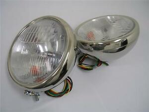 1932 Ford Stainless Headlights 32 Ford W Turn Signals 10 Deuce Lights Nice