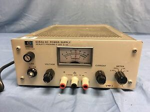 Hp Agilent 6284a Dc Power Supply 0 20v 0 3a W option 040 Load Tested