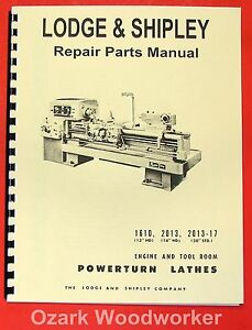 Lodge Shipley 1610 2013 17 Metal Lathe Manual 0436