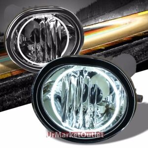Clear Lens Oe Front Bumper Ccfl Halo Ring Fog Light Lamp bulb For 05 10 Tc Ant10