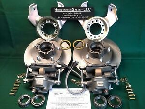 1946 1964 Willys Jeep Station Wagon Front Drum To Disc Brake Conversion Kit 4wd