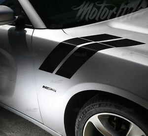 2015 2016 2017 2018 Dodge Charger Hood To Fender Side Double Stripes Rally Deca