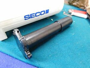 Seco Indexable Insert T slot Mill 2 50 Dia X 312 X 32mm Shank