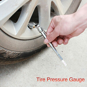 10 100 Psi Pencil Pen Style Truck Auto Vehicle Car Tire Pressure Gauge Air Meter