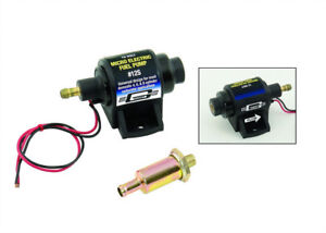 Mr Gasket 12s 35gph 4 7psi Electric Fuel Pump Sbc Bbc Holley Sbf Bbf Chevy Ford