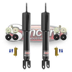 2002 2006 Cadillac Escalade Front Active Suspension To Passive Gas Shocks Kit