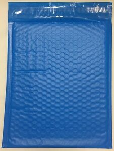 Blue Color Poly Bubble Mailers Padded Env Self Seal 6 X 9 Qty 100 Envelopes 0