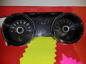 Speedometer Cluster Guages Ford Mustang 13 14 Dr33 10849 Ad Mph 3 7l Da 96k Mi
