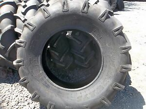 Two 14 9x24 Speedways 6 Ply Tube Type Irrigation John Deere Ford Tractor Tires
