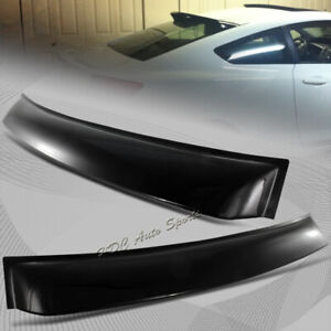 For Honda Civic 9th Gen 2dr coupe Abs Plastic Roof Window Deflect Spoiler Visor
