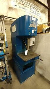 Denison Multipress Model 12 Ton Hydraulic C Frame Press
