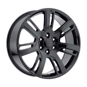 Set 4 22x9 31 6x139 7 Replica Replica Escalade Black Wheels rims 22 20905