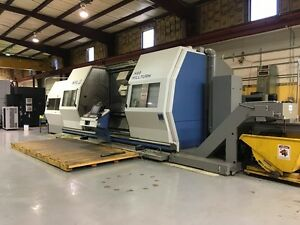 Wfl M80 Millturn cnc Turning boring milling Center Immaculate Less Than 200 Hrs