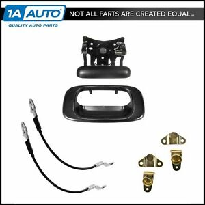 Tailgate Handle Cables Hinges Repair Kit Set For Chevy Silverado Gmc Sierra