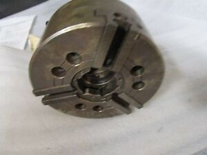 Kitagawa 6 3 jaw B206 Chuck With A5 Spindle Mount