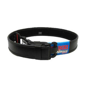 Bianchi 22124 Accumold Elite Medium Wide Plain Leather Duty Belt 2 25 34 40
