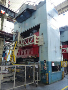 1320 ton Schuler Straight Side Press 180 X 108 Bed