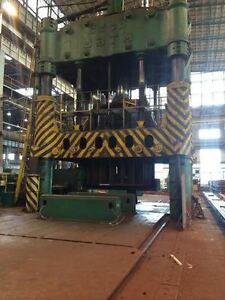 4000 ton Stanko 4 post Hydraulic Press