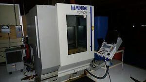 Mikron Model Vcp600 Vertical Machining Center