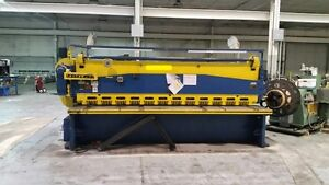 12 X 3 8 Lodge Shipley Mechanical Shear