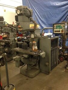 Bridgeport 12 1 2 X 34 1 4 Series 1 Cnc Mill