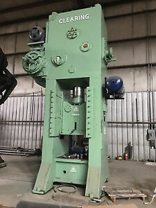 400 ton Clearing F1400 42 Straight Side Single crank Press