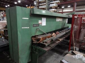 12 X 1 4 Cincinnati Model 2500 Mechanical Squaring Shear