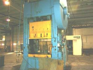 350 Ton Warco Straight Side Double Crank Press