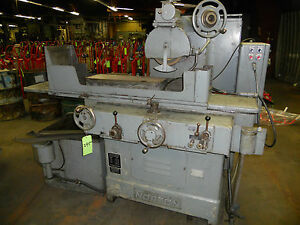 8 X 24 Norton S 3 Hydraulic Surface Grinder