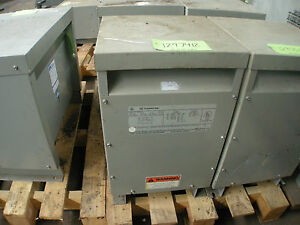 25 Kva General Electric Single Phase Transformer Cat 9t23b2671
